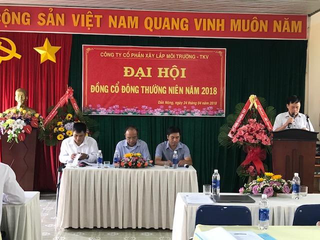 KSV Hoàng Văn Kiệm trình bày Báo cáo của Ban kiểm soát